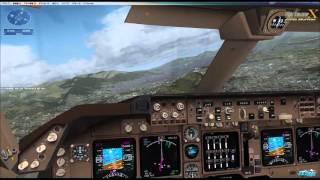 FSX Mission Quito(Scenery : Aerosoft-Approching QUITO FSX P3D)