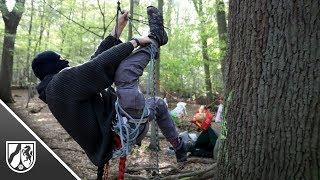 Polizei verlässt Hambacher Forst: Aktivisten ziehen wieder ein