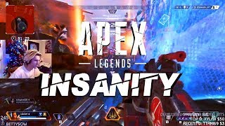 APEX LEGENDS MONTAGE - FIRST WEEK INSANITY  (BEST MOMENTS FT. SHROUD, SKADOODLE, XQC, SUMMIT1G)