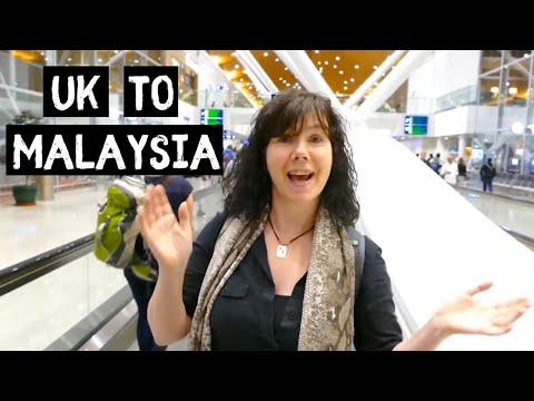 Arriving in Kuala Lumpur -  Malaysia Borneo Trip 2017