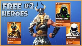HEROES GRATUIT #2 - FORTNITE Save The World (fr) Pve