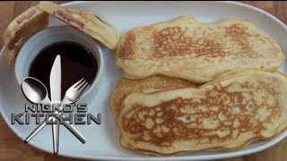 Bacon Pancake Dippers - Nicko's Kitchen
