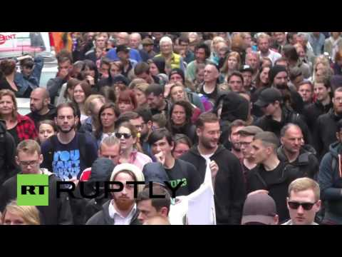 Germany: Leftists, Turkish nationalists and German far-right groups march in Cologne