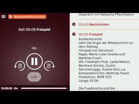 Deutschlandfunk (+ DLF Kultur , DLF Nova ) neue Nachrichten Intros