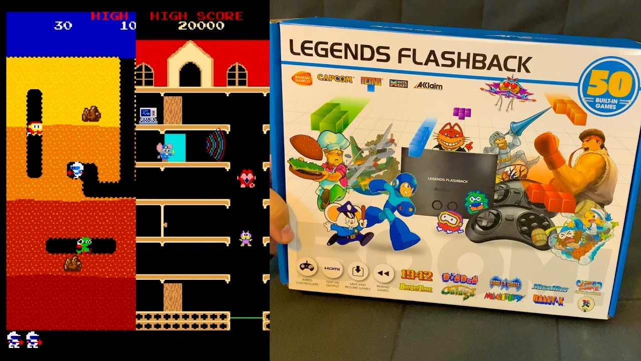Legends Flashback Review & Jailbreaking AT Games New Retro Gaming Console