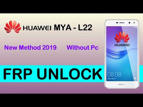 Huawei MYA-L22 FRP Bypass New 2019 Method Without Pc