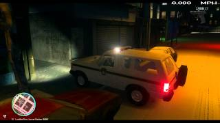 LCPDFR 1.0c GTA 4 Classic Ford Bronco Snow Patrol Happy Holidays
