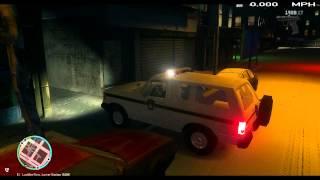 LCPDFR 1.0c GTA 4 Classic Ford Bronco Snow Patrol Happy Holidays