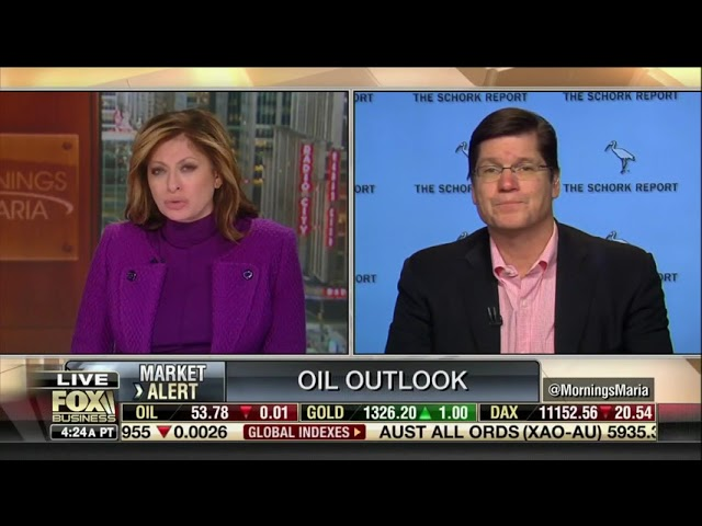 Feb 1, 2019 Fox Business Stephen Schork Global Oil Prices