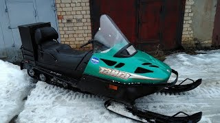 Тайга 500. Купил снегоход! )))