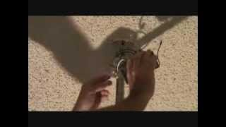 how to remove a remote control from a ceiling fan