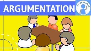 Argumentationsweisen – Argumenttypen – Argumentation & Rhetorik einfach erklärt – Deutsch Abitur