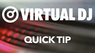 Karaoke Icons Instead of Video Icons - VirtualDJ 8 Quick Tip #9
