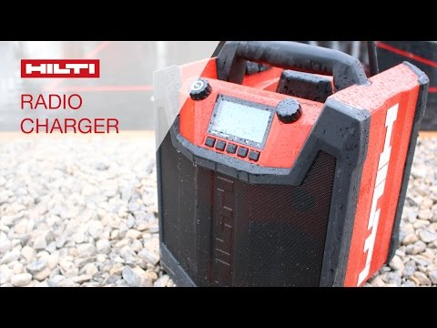 INTRODUCING the Hilti radio charger RC 4/36