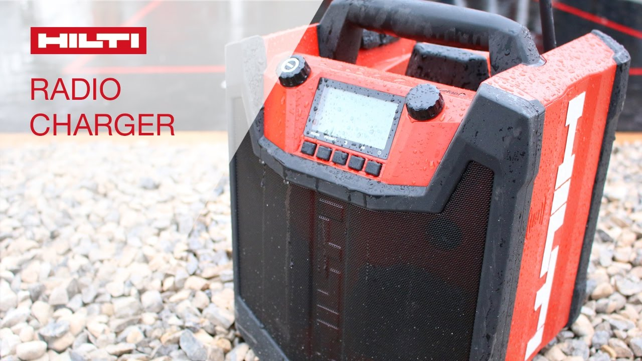 introducing the hilti radio charger rc 4/36 - youtube