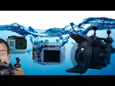 Recommended Underwater Cameras For Scuba Divers