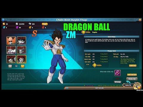 Bình Luận Trải Nghiệm Game Dragon Ball ZingMe Những Trận Chiến & Tên Skill  Quá Dài :)))