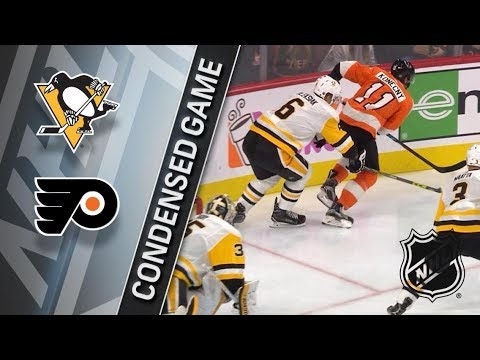 Pittsburgh Penguins vs Philadelphia Flyers – Jan. 02, 2017 | Game Highlights | NHL 2017/18. Обзор