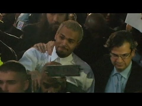 Chris Brown Released After Misdemeanor Assault Charges