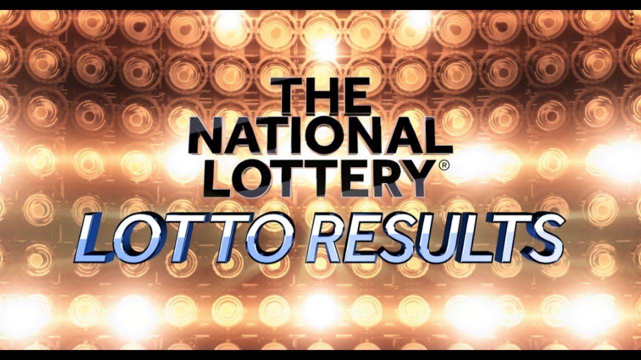 Saturday Lottoresults