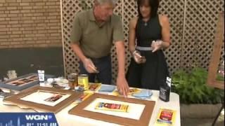 Custom Picture Frame Stain with Bruce Johnson on WGN | Minwax