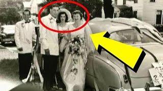 Просматривая свадебное видео своих родителей 1953 года, парень заметил очень необычную деталь