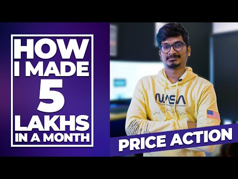 How I made 5 Lakhs using Simple Technique | Price Action | Swing Trading