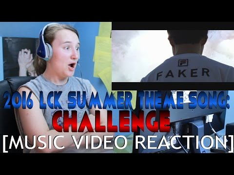 2016 LCK Summer Theme Song: Challenge (LoL X Guckkasten) [MUSIC VIDEO REACTION]