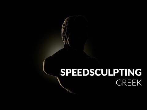 Greek - Zbrush Speed Sculpt
