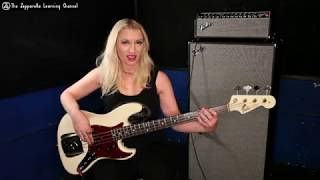 Immigrant Song bass lesson - main riff. 1 of 3. Holly West for ZLC.