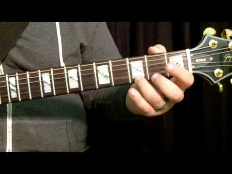 """How To Play """"Back In Black"""" By ACDC (Basic Guitar Chords) - Beginner Method"""