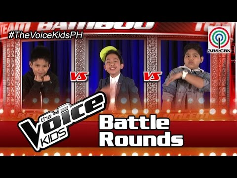 """The Voice Kids Philippines Battle Rounds 2016: """"Hari Ng Sablay"""" by Kenneth, Aiken & Ahron"""