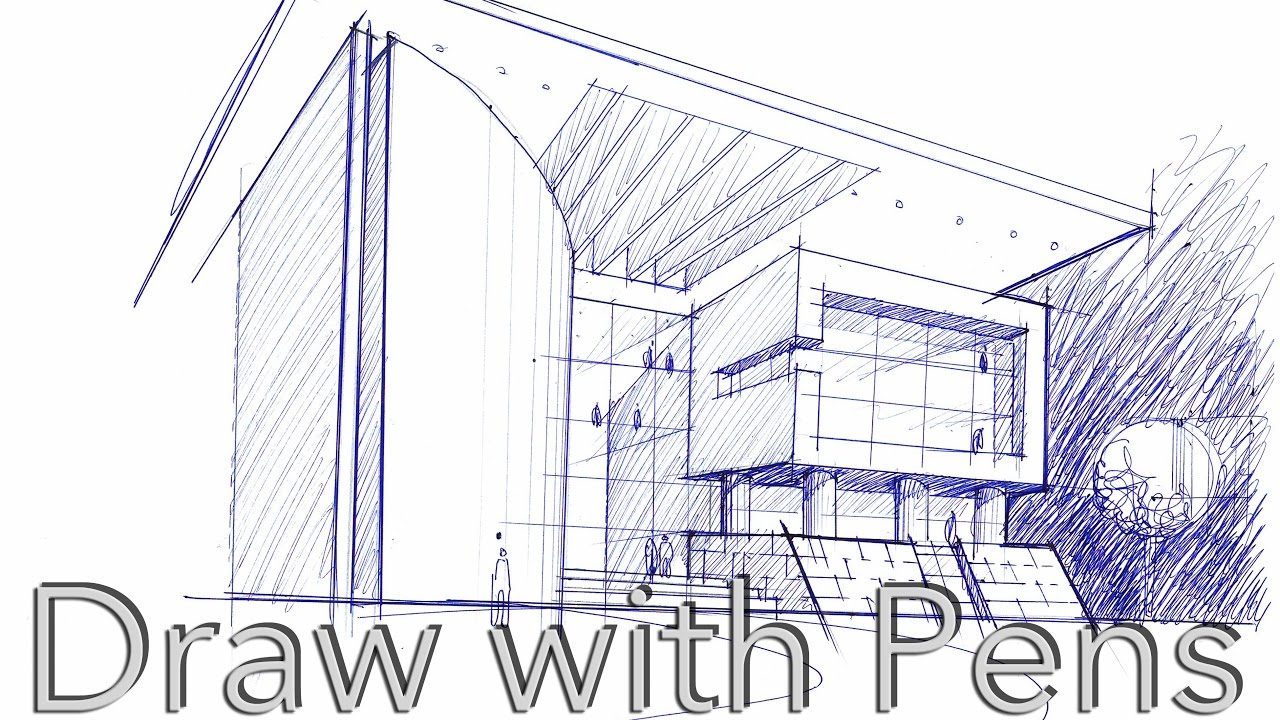 Architecture Drawing Tutorial