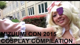 Mizuumi Con 2015 Cosplay Compilation - Nerd builds