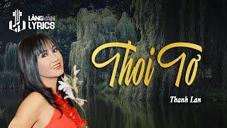 Thoi Tơ - Thanh Lan