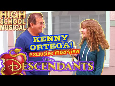 KENNY ORTEGA Conversation with PIPER REESE Disney DESCENDANTS, High School Musical, and More!
