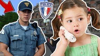 JE TROLL UNE KIKOO ET ELLE APPELLE LA POLICE SUR MINECRAFT !! 👮😂