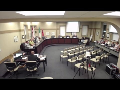 Special Council, Council and Committee of the Whole - January 24, 2018