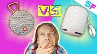 JBL Clip 2 Vs Sony SRS-XB10 - Full comparison + Sound Test