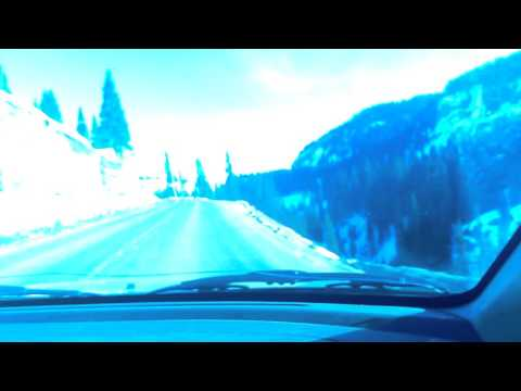 Red mtn pass in winter(most dangerous highway in US)