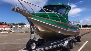Profile Boats 635H Limited Sealegs retrieval trailer amphibious