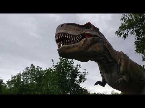 Динопарк в Крылатском (Динозавры в парке SKAZKA в Москве)