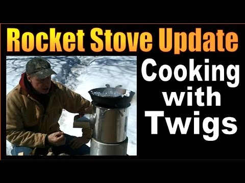 Rocket Stove Update  Sharing Results From My DIY Project