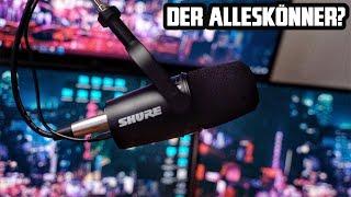 Shure MV7 Mikrofon für Twitch Streaming, Podcast & YouTube Let´s Play? + Vergleich zum Shure SM7B