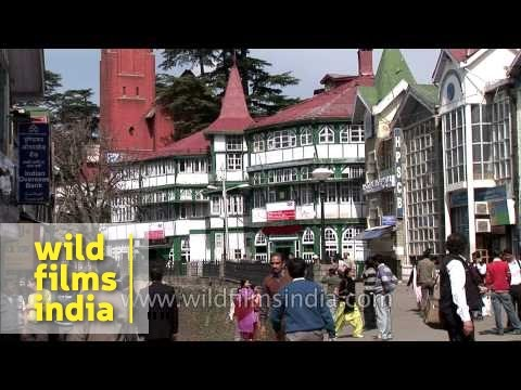 Local market of Shimla - Himachal Pradesh