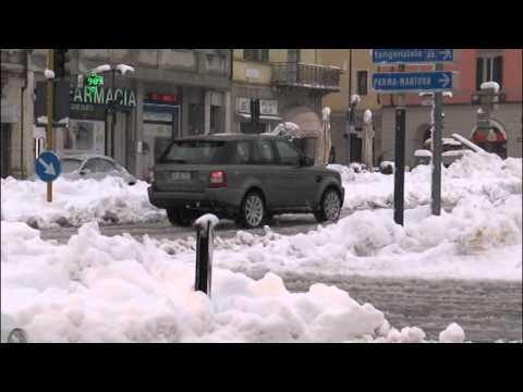 Situazione maltempo e neve a Cremona il 6 febbraio 2015