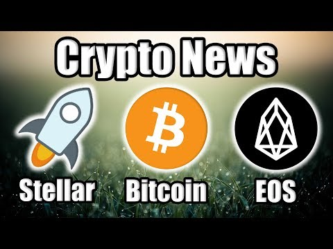 CryptoNews: | Stellar Launches StellarX | 36% Of Bitcoin In Circulation Is Lost | EOS on Bloomberg