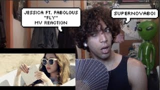 "Jessica ""Fly"" ft Fabolous MV Reaction 
