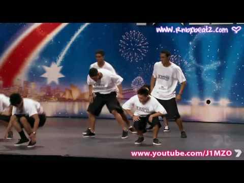 Australia's Got Talent - Justice Dance Crew
