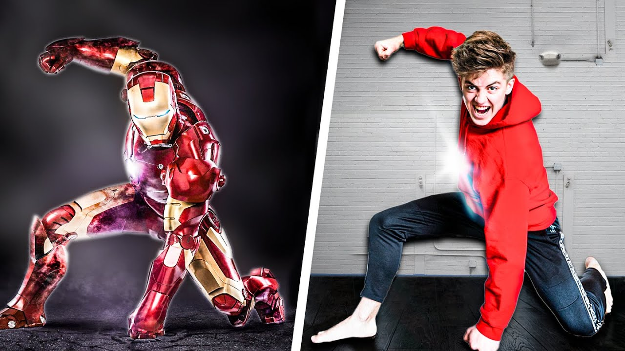 Download We Tried Marvel Stunts In Real Life! - Challenge